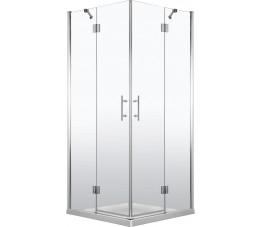 Deante Abelia Kabina kwadratowa 90cm :chrom, Szkło: transparentne  KTA 043P