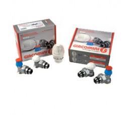 Giacomini Pakiet grzejnikowy prosty z głowicą termostatyczną R470FX013
