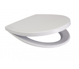 Deska do miski zawieszanej DELFI polipropylen antybakteryjna K98-0039