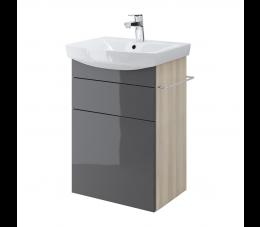 Cersanit szafka podumywalkowa Smart pod umywalkę Carina 50 cm, kolor: szary