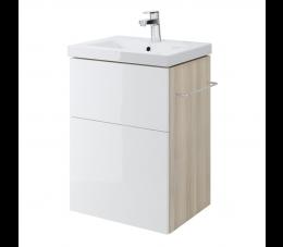 Cersanit szafka podumywalkowa Smart pod umywalkę Como 50 cm, kolor: biały