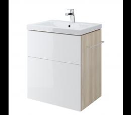 Cersanit szafka podumywalkowa Smart pod umywalkę Como 60 cm, kolor: biały