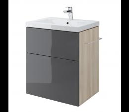 Cersanit szafka podumywalkowa Smart pod umywalkę Como 60 cm, kolor: szary