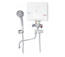 Biawar ogrzewacz elektryczny jednofazowy umywalkowo-prysznicowy Oskar OP - 5 S