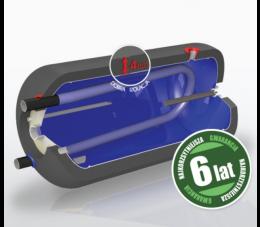 Elektromet wymiennik wody WGJ-g 100l poziomy z wężownicą