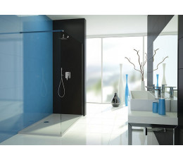 SANPLAST P/TX5b-100 kolor profili: srebrny błyszczący  wzór szyby: transparentna