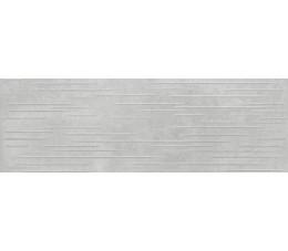 Opoczno Płytki ścienne 24x74 Flower Cemento  Light Grey Structure