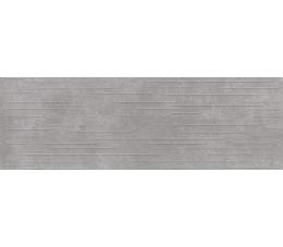 Opoczno Płytki ścienne 24x74 Flower Cemento  Grey Structure