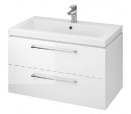 Cersanit zestaw Lara pod Como 80, kolor: biały (szafka dsm + umywalka)