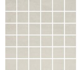 Opoczno Płytki 29,7x59,8 Concrete Flower Light Grey Mosaic