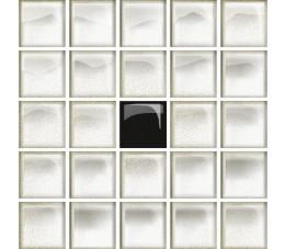 Opoczno Płytki Glass white/black  29,7x60