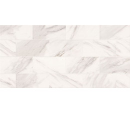 Opoczno Płytki Marble Charm White Glossy 29x59,3