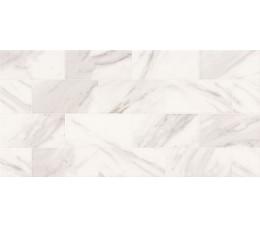 Opoczno Płytki Marble Charm White Glossy Geo 29x59,3