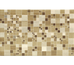 Cersanit płytki Mosa cream inserto geo squares 25 cm X 40 cm