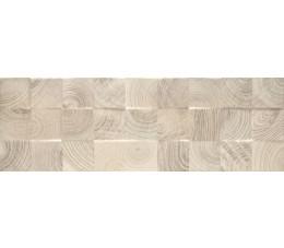 Paradyż Daikiri Beige Ściana Wood Kostki Struktura Rekt.25x75 cm