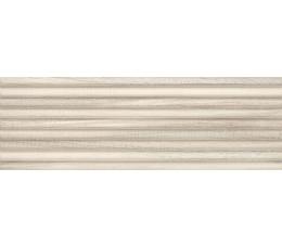 Paradyż  Daikiri Beige Ściana Wood Pasy Struktura Rekt. 25x75 cm