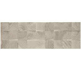 Paradyż  Daikiri Grys Ściana Wood Kostki Struktura Rekt. 25x75 cm