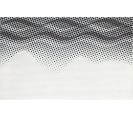 CERSANIT Płytki NEGRA WHITE INSERTO WAVES 25X40