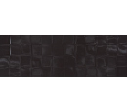 CERSANIT Płytki SIMPLE ART BLACK GLOSSY STRUCTURE CUBES 20X60