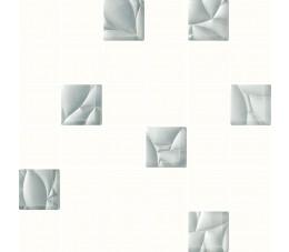 Płytki Paradyż Esten Bianco/silver Mozaika Cięta K.4,8X4,8