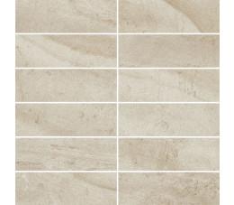 Płytki Paradyż Teakstone Bianco Mozaika Cięta K.4,8X14,8 Mat. 29,8x29,8