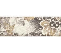Płytki Paradyż Rondoni Bianco Inserto Struktura D 9,8x29,8