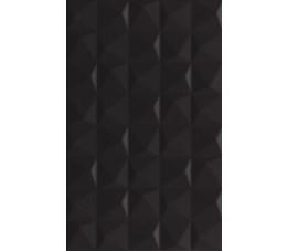 Płytki Paradyż Melby Nero Ściana Struktura 25x40