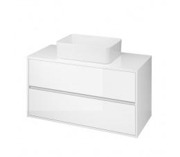 Cersanit szafka z blatem uniwersalnym Crea 100 cm, kolor: biały