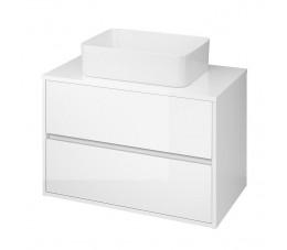 Cersanit szafka z blatem uniwersalnym Crea 80 cm, kolor: biały