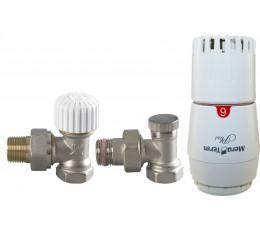 Vario-Term Econ Plus zestaw termostatyczny kątowy