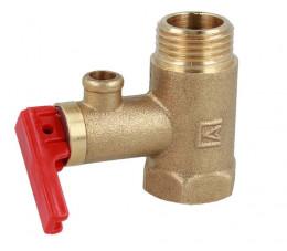 AFRISO Zawór bezpieczeństwa do elektrycznych podgrzewaczy wody AF4, 6,7 bar, G1/2