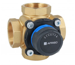 AFRISO 4-drogowy obrotowy zawór mieszający ARV 486 ProClick, DN40, Rp1 1/2