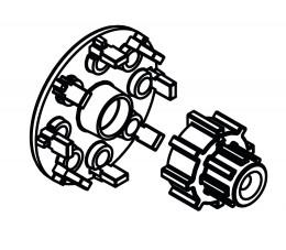 AFRISO Zestaw montażowy ARM/ACT/ARC do zaworu ARV ProClick