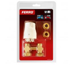 FERRO komplet termostatyczny prosty uniwersalny ZTV01