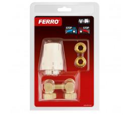 FERRO komplet termostatyczny kątowy uniwersalny ZTV02