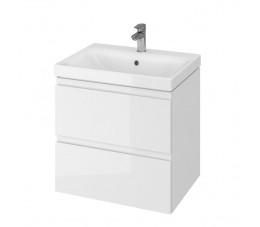 Cersanit zestaw Moduo 60 biały (szafka + umywalka)