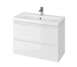 CERSANIT SET MODUO SLIM 80 biały (szafka + umywalka)