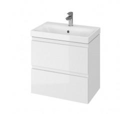 Cersanit zestaw Moduo Slim 60 biały (szafka + umywalka)