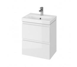CERSANIT SET MODUO SLIM 50 biały (szafka + umywalka)