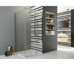 SANPLAST KNDJ2/FREEII-90x120-S profile:chrom/srebrny błyszczący, szyba: transparentna
