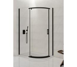 NEW TRENDY New Komfort Black 120x85x190, szkło: czyste K-0471
