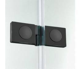 NEW TRENDY parawan nawannowy New Soleo Black 100x140 lewy, szkło: czyste P-0041