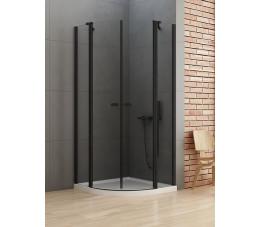 NEW TRENDY New Soleo Black 100x100x195, szkło: czyste K-0540