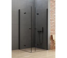 NEW TRENDY kabina New Soleo Black 100x90x195, szkło: czyste D-0236A/D-0239A