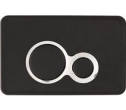 Cersanit przycisk OTTO czarny matowy