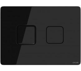 Cersanit przycisk pneumatyczny Accento Square czarne szkło