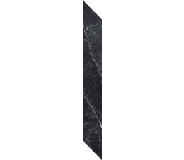 Paradyż BARRO NERO listwa lewa, matowa 7,2 cm x 59,8 cm G1