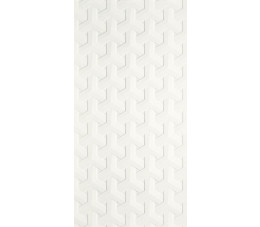 Paradyż Harmony Bianco Ściana A Struktura 30 cm x 60 cm