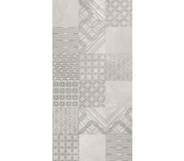 Paradyż Harmony Grys Ściana Patchwork 30 cm x 60 cm