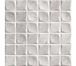 Paradyż HARMONY Grys mozaika prasowana, k- 4,8 cm x 4,8 cm, 29,8 cm x 29,8 cm G1